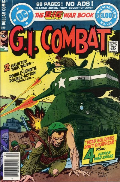 Cover for G.I. Combat (DC, 1957 series) #215