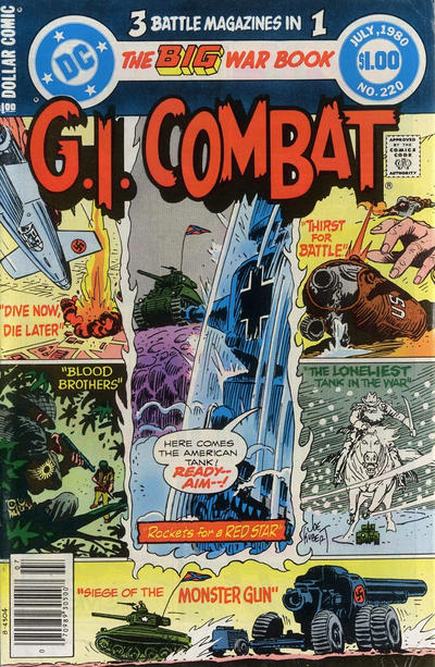 Cover for G.I. Combat (DC, 1957 series) #220