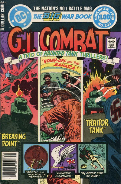Cover for G.I. Combat (DC, 1957 series) #223 [Direct Sales Variant]