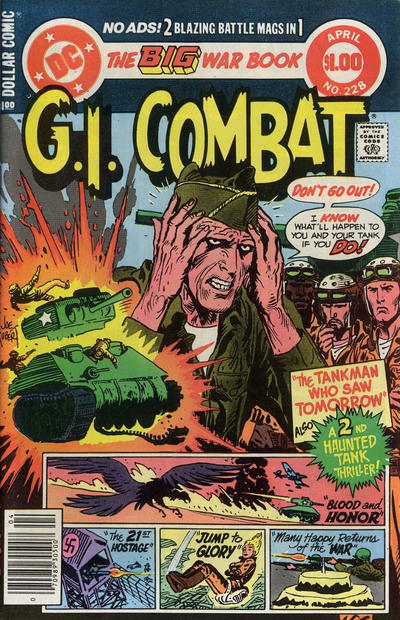 Cover for G.I. Combat (DC, 1957 series) #228