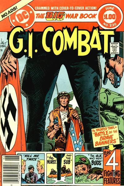 Cover for G.I. Combat (DC, 1957 series) #230 [Direct Sales]