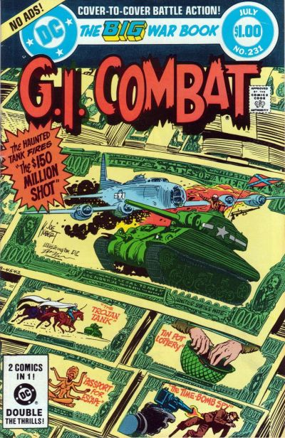 Cover for G.I. Combat (DC, 1957 series) #231
