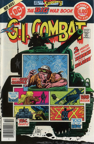 Cover for G.I. Combat (DC, 1957 series) #234 [Direct Sales]