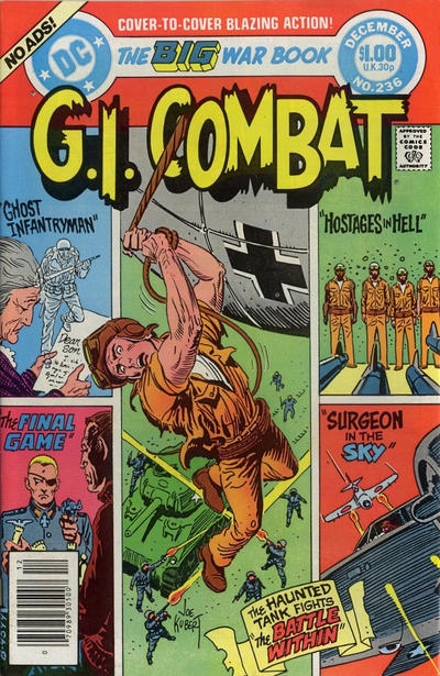Cover for G.I. Combat (DC, 1957 series) #236