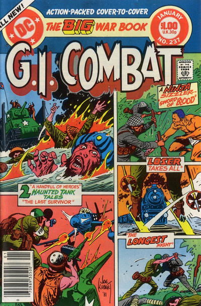 Cover for G.I. Combat (DC, 1957 series) #237