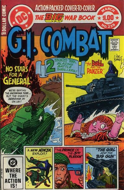 Cover for G.I. Combat (DC, 1957 series) #239