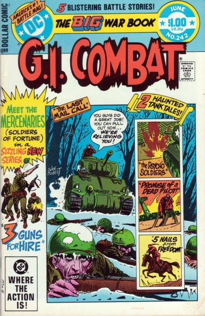 Cover for G.I. Combat (DC, 1957 series) #242