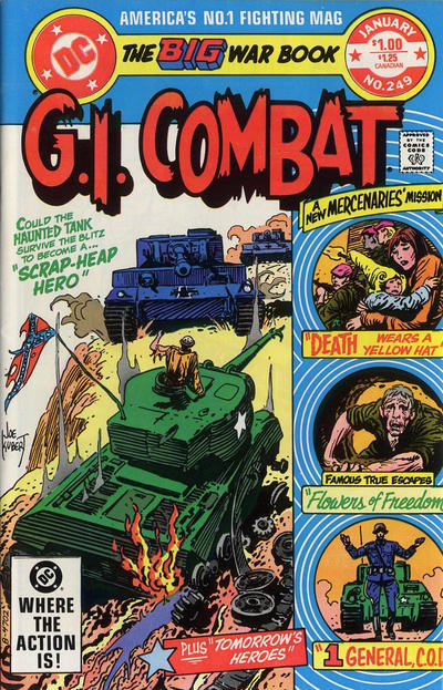 Cover for G.I. Combat (DC, 1957 series) #249