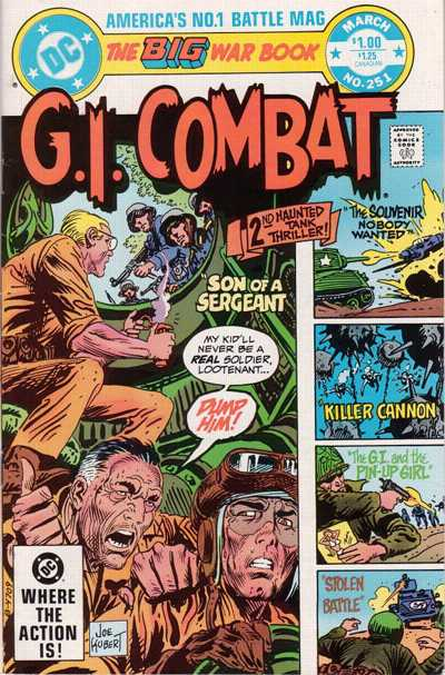 Cover for G.I. Combat (DC, 1957 series) #251 [Canadian]