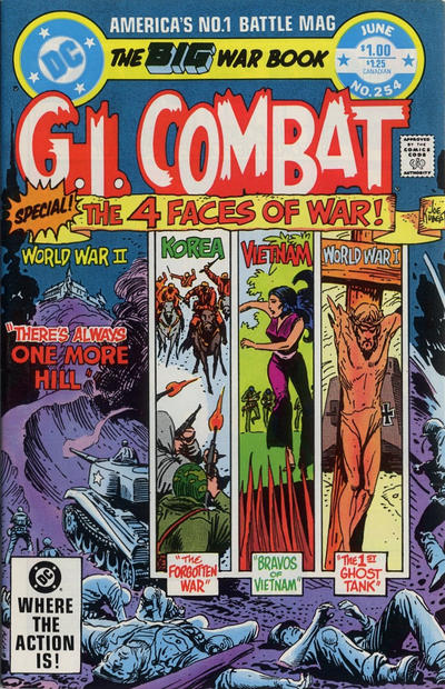Cover for G.I. Combat (DC, 1957 series) #254 [Direct-Sales]
