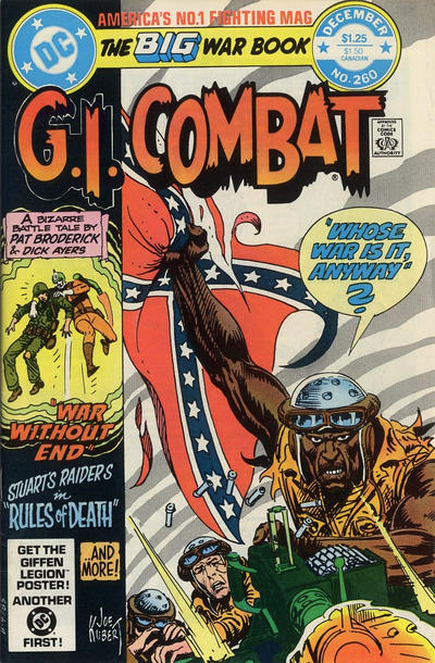 Cover for G.I. Combat (DC, 1957 series) #260 [Direct-Sales]