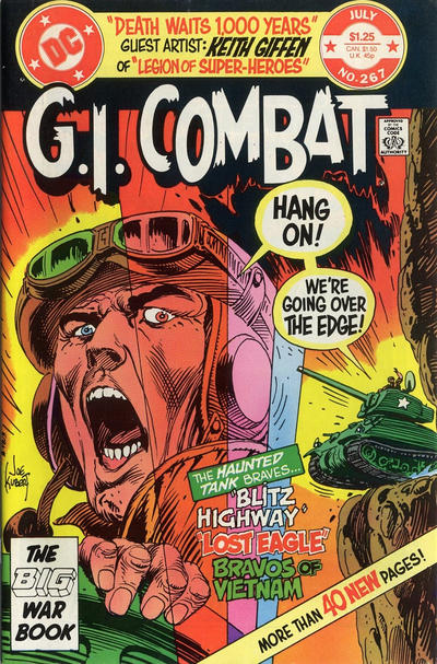Cover for G.I. Combat (DC, 1957 series) #267 [direct-sales]