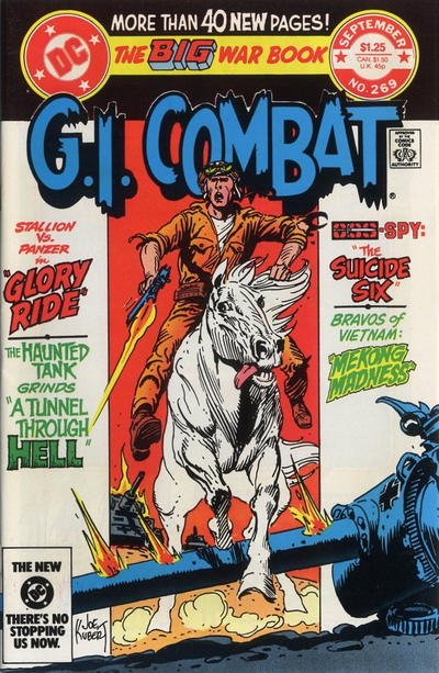 Cover for G.I. Combat (DC, 1957 series) #269 [Direct]