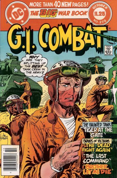 Cover for G.I. Combat (DC, 1957 series) #270 [direct-sales]