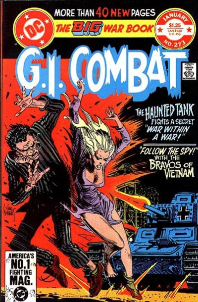 Cover for G.I. Combat (DC, 1957 series) #273 [Direct-Sales Edition]