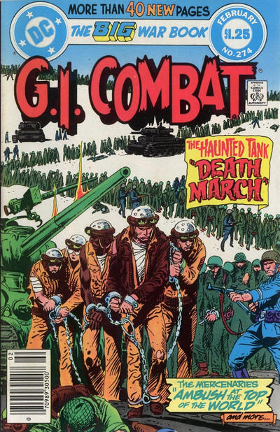 Cover for G.I. Combat (DC, 1957 series) #274