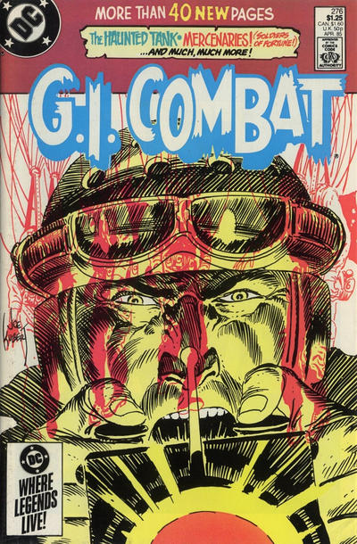 Cover for G.I. Combat (DC, 1957 series) #276 [Direct Sales]