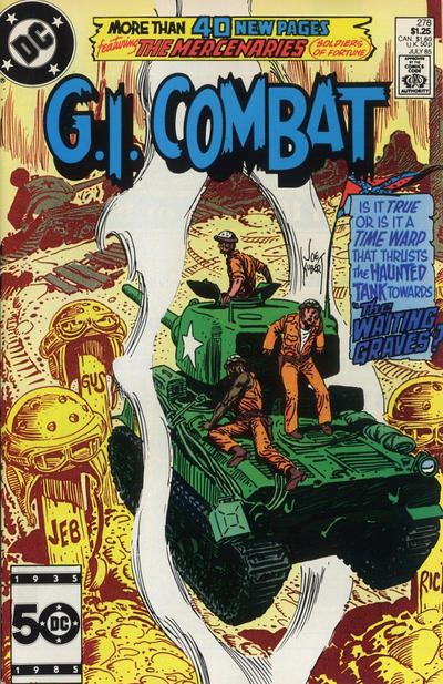 Cover for G.I. Combat (DC, 1957 series) #278 [Direct Sales]