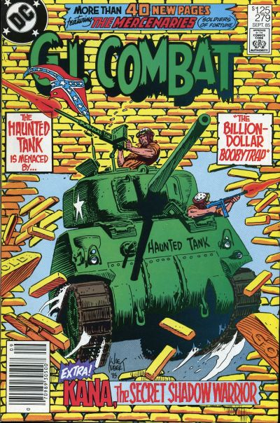 Cover for G.I. Combat (DC, 1957 series) #279