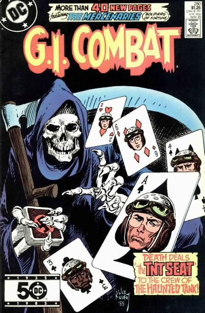 Cover for G.I. Combat (DC, 1957 series) #280