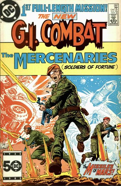 Cover for G.I. Combat (DC, 1957 series) #282