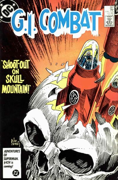 Cover for G.I. Combat (DC, 1957 series) #287 [Direct Sales]