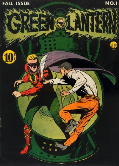 Cover for Green Lantern (DC, 1941 series) #1