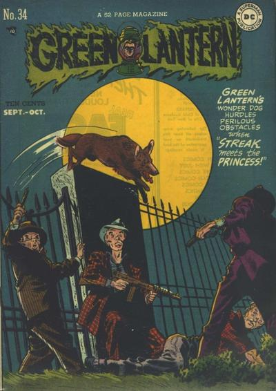 Cover for Green Lantern (DC, 1941 series) #34