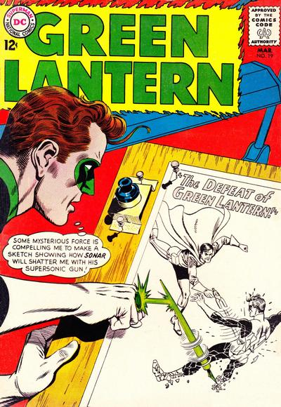 Cover for Green Lantern (DC, 1960 series) #19