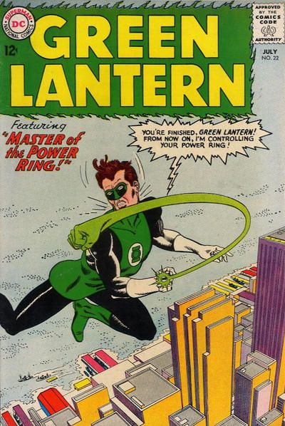 Cover for Green Lantern (DC, 1960 series) #22