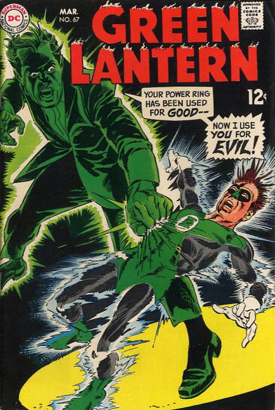 Cover for Green Lantern (DC, 1960 series) #67