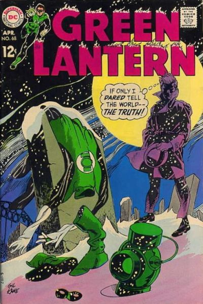 Cover for Green Lantern (DC, 1960 series) #68