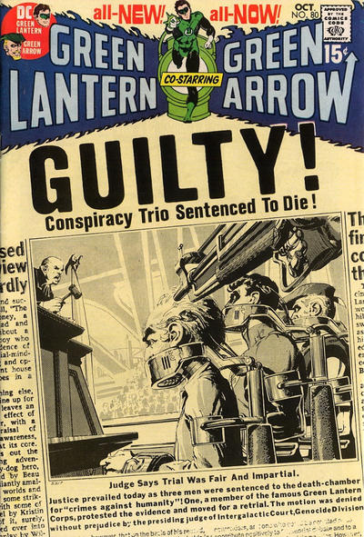 Cover for Green Lantern (DC, 1960 series) #80