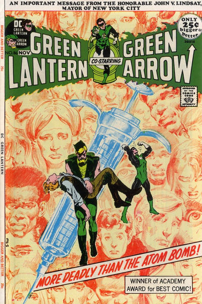 Cover for Green Lantern (DC, 1960 series) #86
