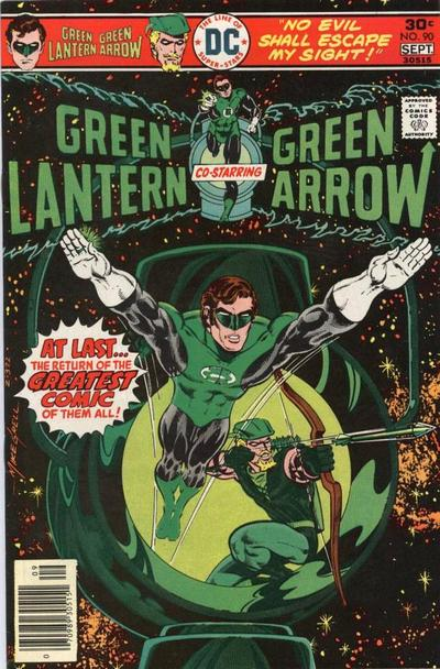 Cover for Green Lantern (DC, 1976 series) #90