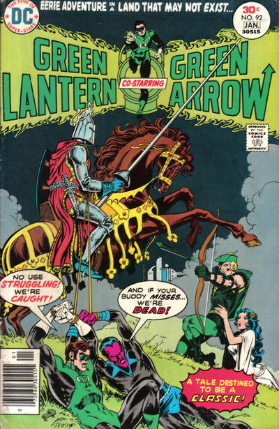 Cover for Green Lantern (DC, 1976 series) #92