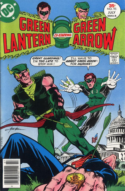 Cover for Green Lantern (DC, 1960 series) #95