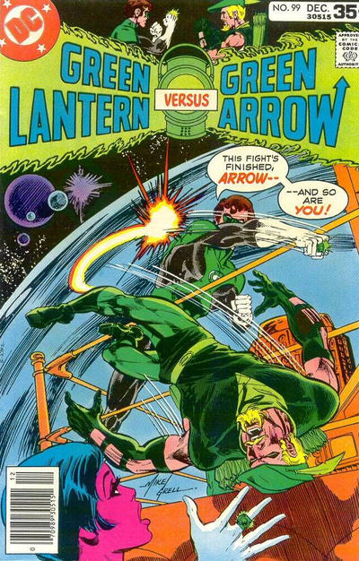 Cover for Green Lantern (DC, 1960 series) #99