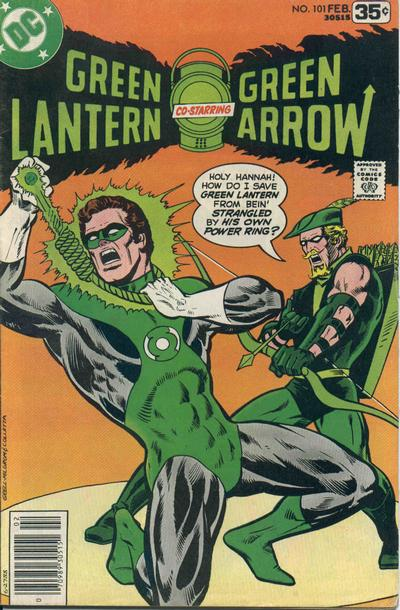 Cover for Green Lantern (DC, 1976 series) #101