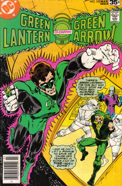 Cover for Green Lantern (DC, 1960 series) #102