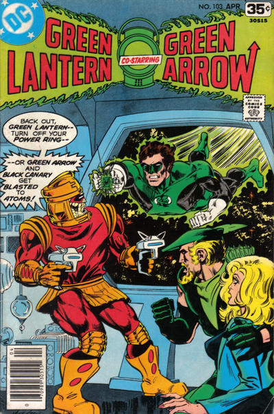 Cover for Green Lantern (DC, 1960 series) #103