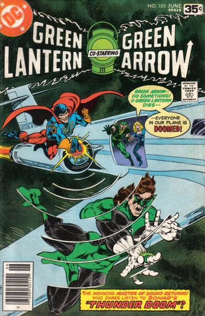 Cover for Green Lantern (DC, 1976 series) #105