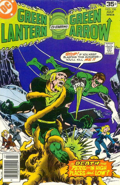 Cover for Green Lantern (DC, 1976 series) #106