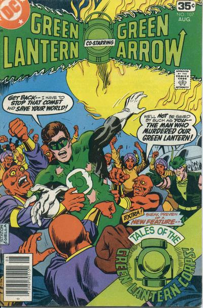 Cover for Green Lantern (DC, 1976 series) #107