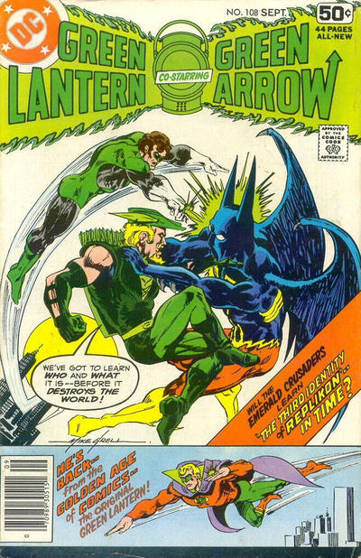 Cover for Green Lantern (DC, 1960 series) #108