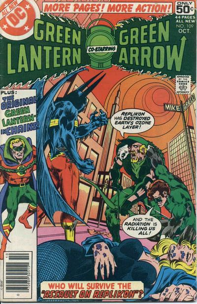 Cover for Green Lantern (DC, 1976 series) #109