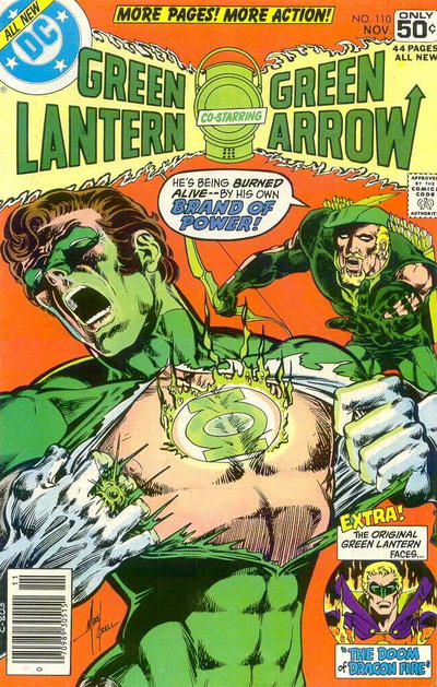 Cover for Green Lantern (DC, 1976 series) #110