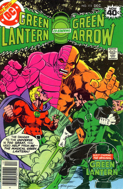 Cover for Green Lantern (DC, 1960 series) #111