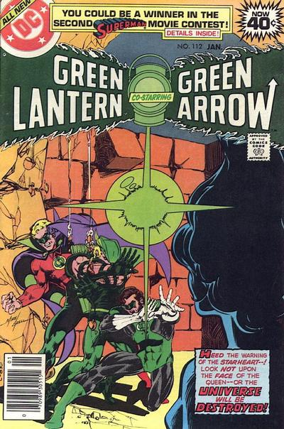 Cover for Green Lantern (DC, 1960 series) #112