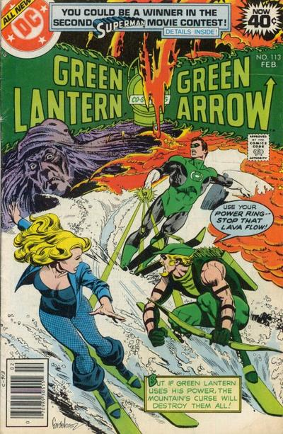 Cover for Green Lantern (DC, 1976 series) #113
